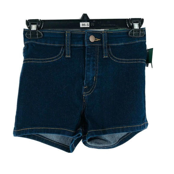Wild Fable Blue Dark Wash High Rise Shorts 00 NEW